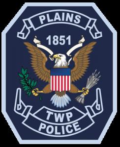 Plains Police Badge